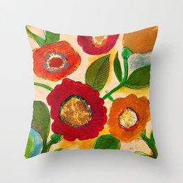 park flower3 Throw Pillow