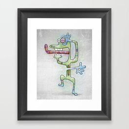 Foo #32 Framed Art Print
