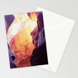 Breathtaking Antelope Slot Canyons Adventure Trek Stationery Cards