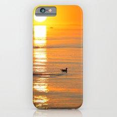 seagull at sundown Slim Case iPhone 6s