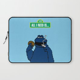 Cookie Monster Laptop Sleeve