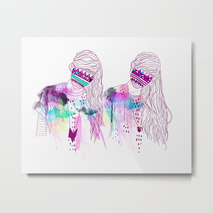 ▲GIRLS▲ Metal Print