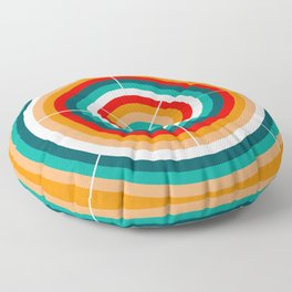 Circular motions Floor Pillow
