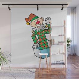 Cartoon Jack In The Box Wall Mural