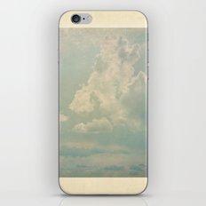 Vieja postal del cielo iPhone & iPod Skin
