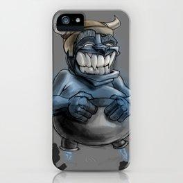 Possibly a Tricky Warrior Dwarf Demon iPhone Case