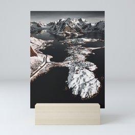 reine at the lofoten Mini Art Print