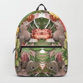 Bunny Cockatoo Kaleidoscope Backpack