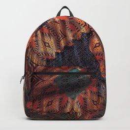 African American Woman Backpack