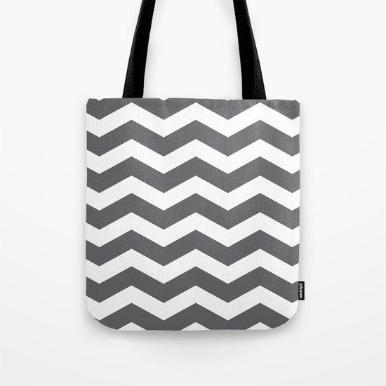 Chev Tote Bag
