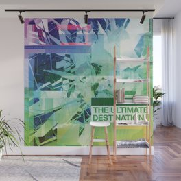 The Ultimate Destination (mixed media) Wall Mural
