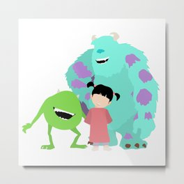 Monsters & Co. Metal Print
