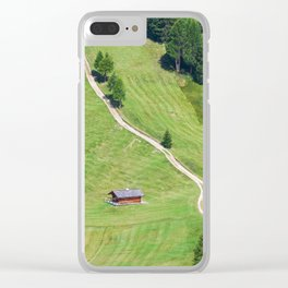 Green Hill Clear iPhone Case