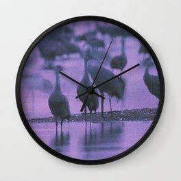 NOISY BIRDS Wall Clock