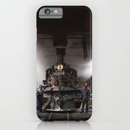 Locomotives Photograph iPhone Case