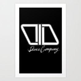 C.I.D WHITE Art Print