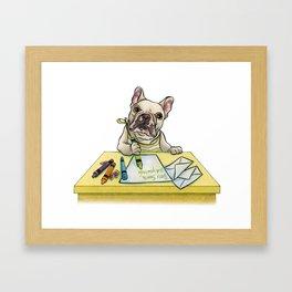 Bizzy Framed Art Print