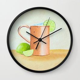 Moscow Mule Wall Clock