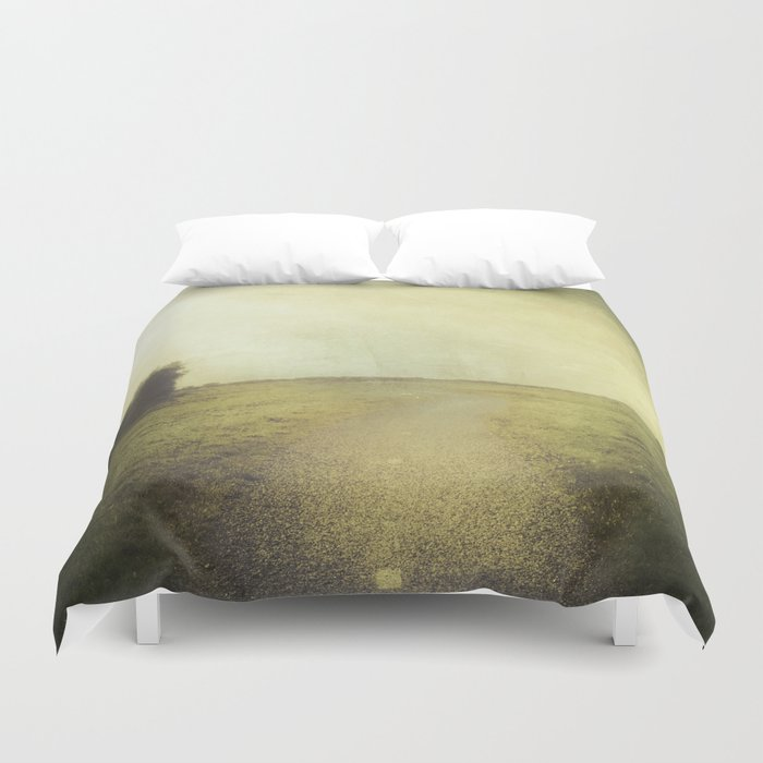 Any Place in the world Duvet Cover