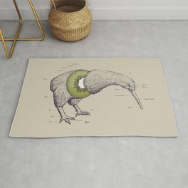 Kiwi Anatomy Rug