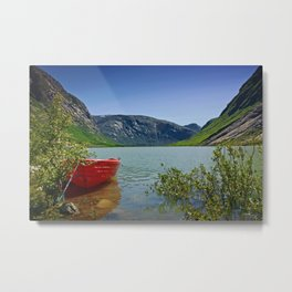 Nigardsbreen Metal Print