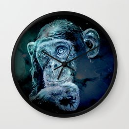 A JANE GOODALL quote - universe version Wall Clock
