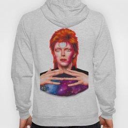 David Bowie - Stylized portrait in retro modern style Hoody