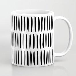 Classy Handpainted Stripes Pattern, Scandinavian Design Coffee Mug