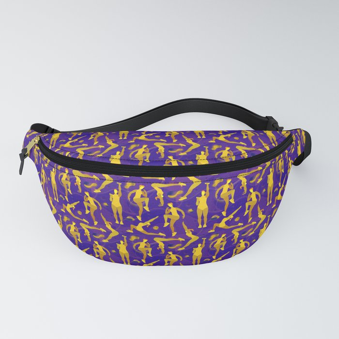 Fitness yellow glow Fanny Pack