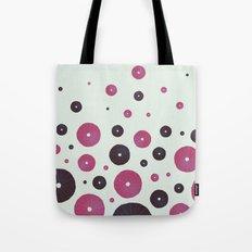 Sea's Design - Urchin Skeleton (Pink & Black) Tote Bag