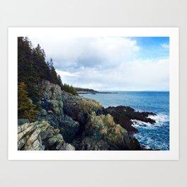 Introducing the Bold Coast Art Print