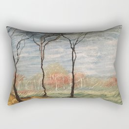 Pastel Wood Rectangular Pillow