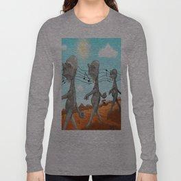 """Dr. Seuss' """"Michael Stipe""""  Long Sleeve T-shirt"""