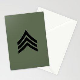 Sergeant (OD Green) Stationery Cards