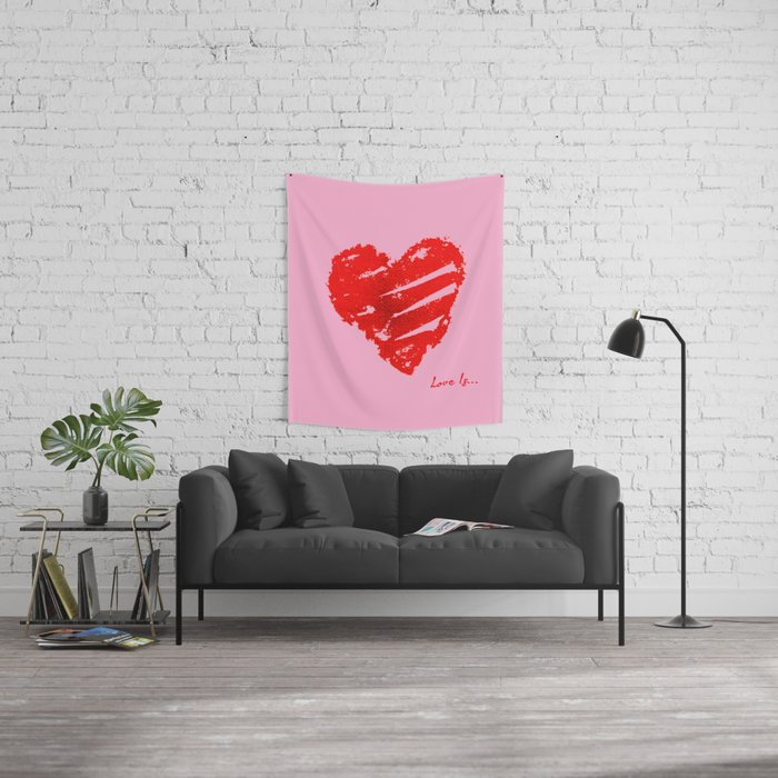 Love Is Wall Tapestry