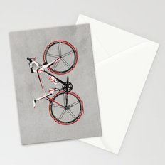 Race Bike Stationery Cards