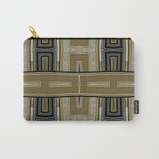 Gold Black Glam ArtDeco X5 Carry-All Pouch