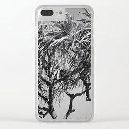Mahama Lauhala Hala Trees Pandanus Clear iPhone Case