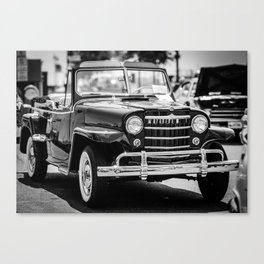 Willys Automobile Canvas Print