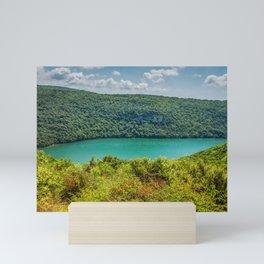 Limski Canal also called Limski Fjord in Istria near Rovinj Mini Art Print