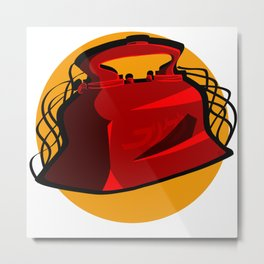 Medical Mechanica Metal Print