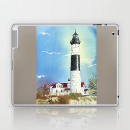 Big Sable Point Lighthouse Laptop & iPad Skin