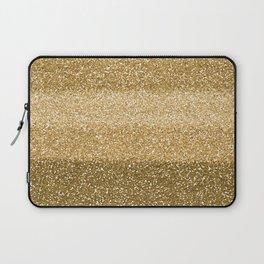 Glitter Glittery Copper Bronze Gold Laptop Sleeve