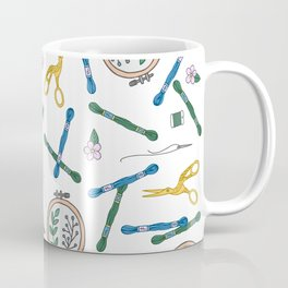 Embroidery | Embroidery Pattern | Embroidery Supplies Coffee Mug