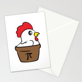 Chick Lover? Here's a cute t-shirt design with a cute illustration of a  Hen Chicken Rooster Stationery Cards