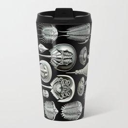 Trilobites and Fossils by Ernst Haeckel Travel Mug