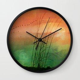 Velvet Moon Wall Clock