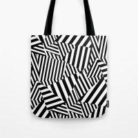 vertigo Tote Bags featuring Vertigo by Y A Y