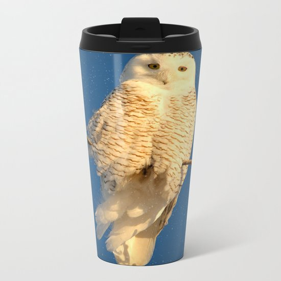 Guardian Angel Metal Travel Mug
