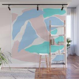 Pastel Paper Wall Mural